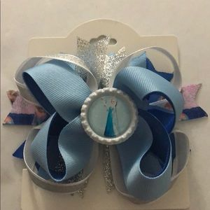 Frozen girls hair bow